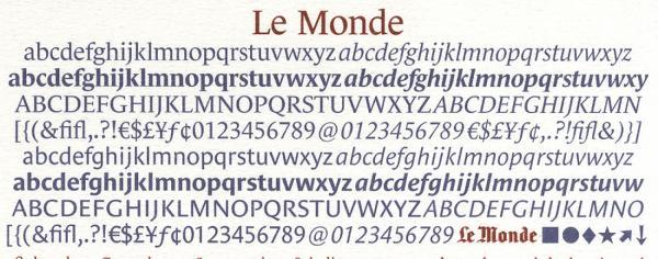 Le Monde. Exemple  n° 4