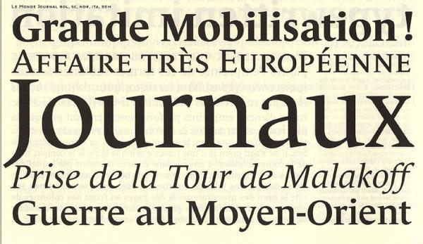 Le Monde. Exemple  n° 9