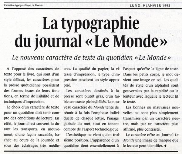 Le Monde. Exemple  n° 13