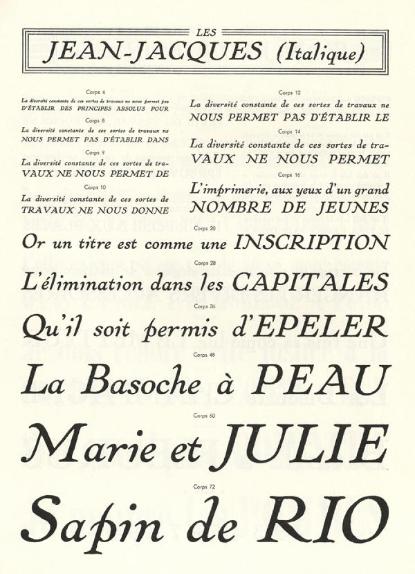 Jean-Jacques. Exemple  n° 2