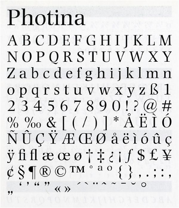 Photina. Exemple  n° 1