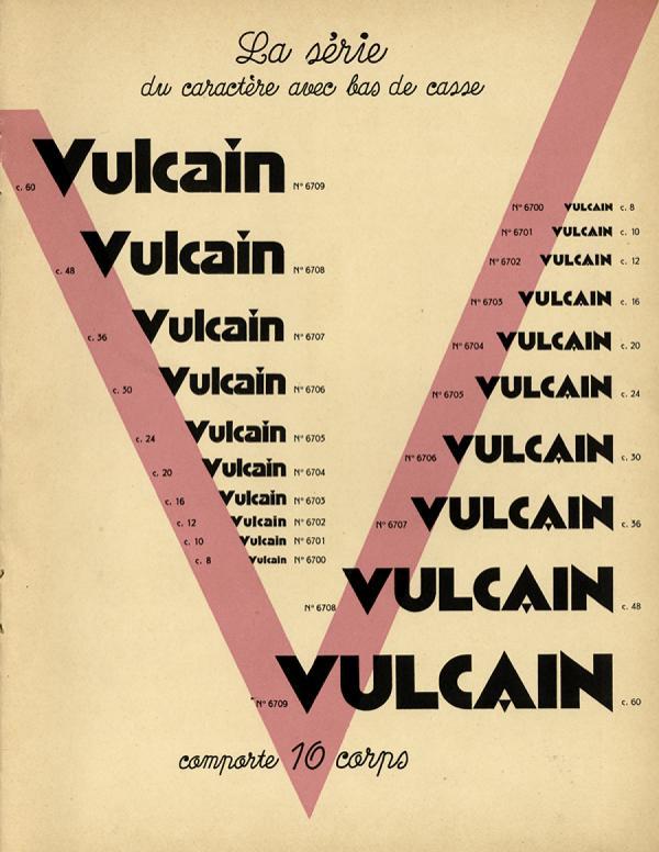 Vulcain. Exemple  n° 1