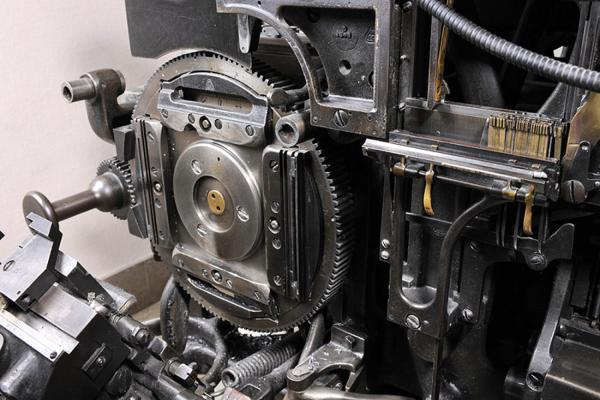 Machine Linotype. Exemple  n° 4