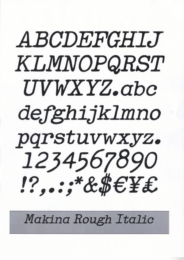 Makina. Exemple  n° 5
