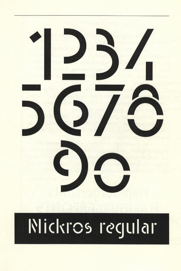 Mickros / Ikarus. Exemple  n° 7