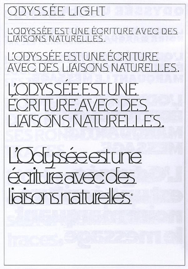 Odyssée. Exemple  n° 7