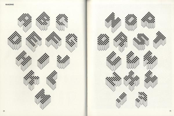Fantastic alphabets. Exemple  n° 1
