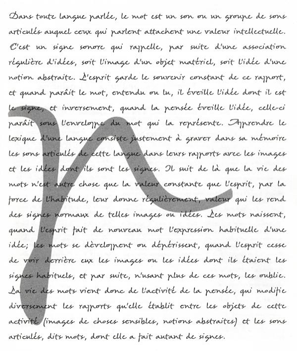 Scripto. Exemple  n° 1