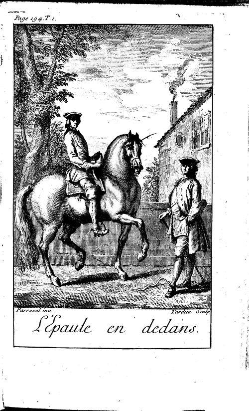 François Robichon de La Guérinière, Ecole de cavalerie, 1736 (BmL, 342766)