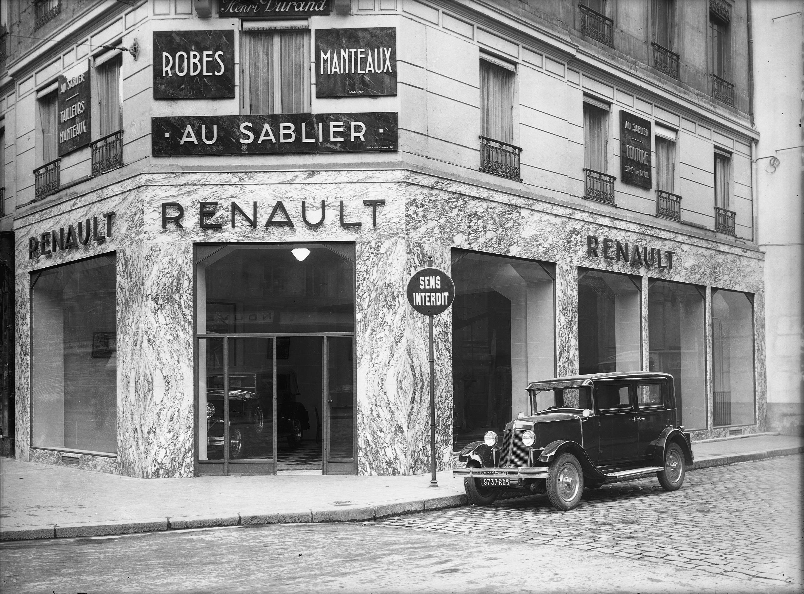 Photographes en rh ne alpes garage renault 45 rue de la for Garage renault rue gambetta le mans