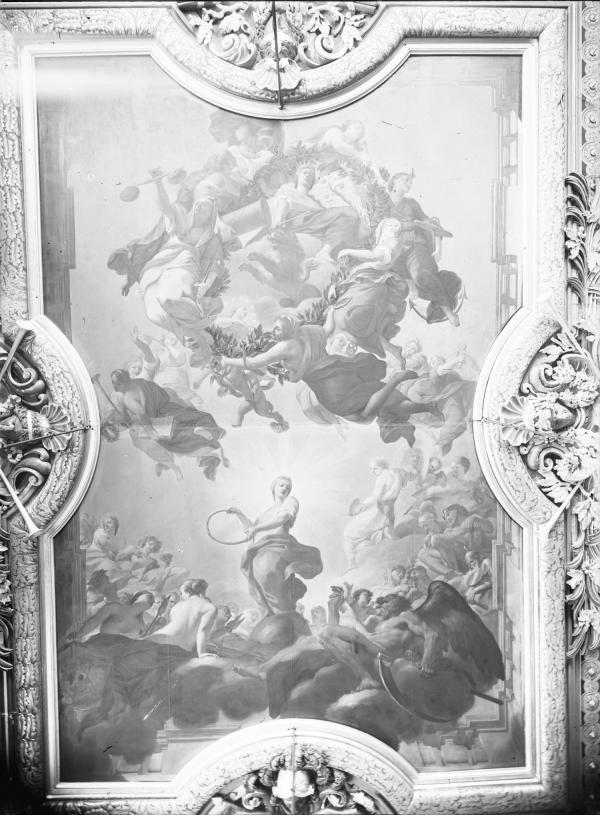 [Hôtel de ville de Lyon, plafond du salon de la Nomination (dit aussi salon Henri IV)]