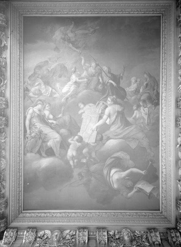 [Hôtel de ville de Lyon. Plafond du salon du Consulat]