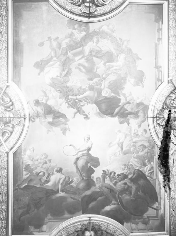 [Hôtel de ville de Lyon. Plafond du salon de la Nomination, dit aussi salon Henri IV]