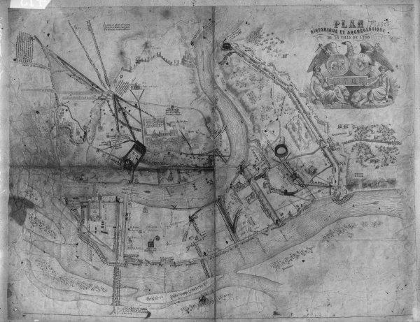 [Plan historique et archéologique de la Ville de Lyon]