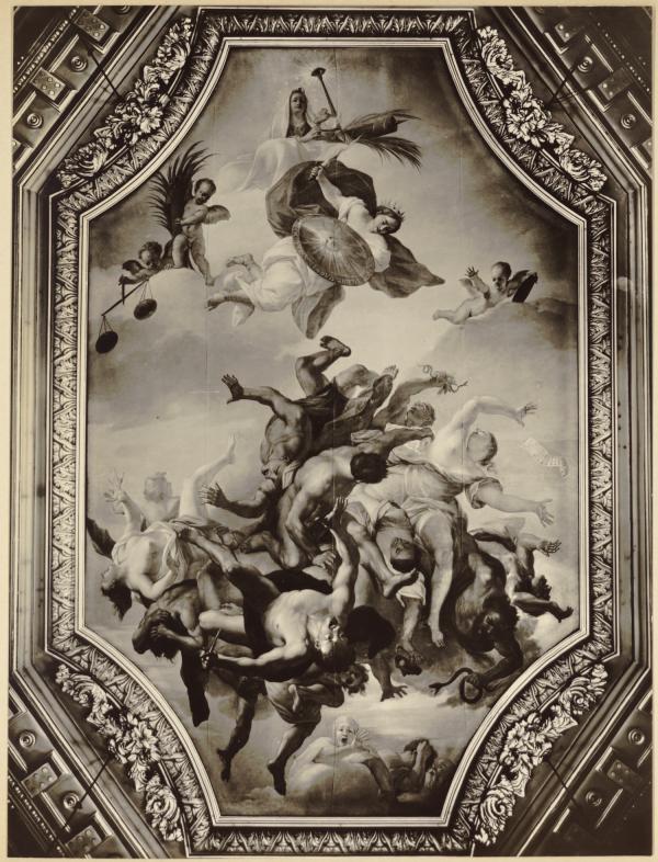 [Hôtel de ville de Lyon, plafond du salon de la Conservation]