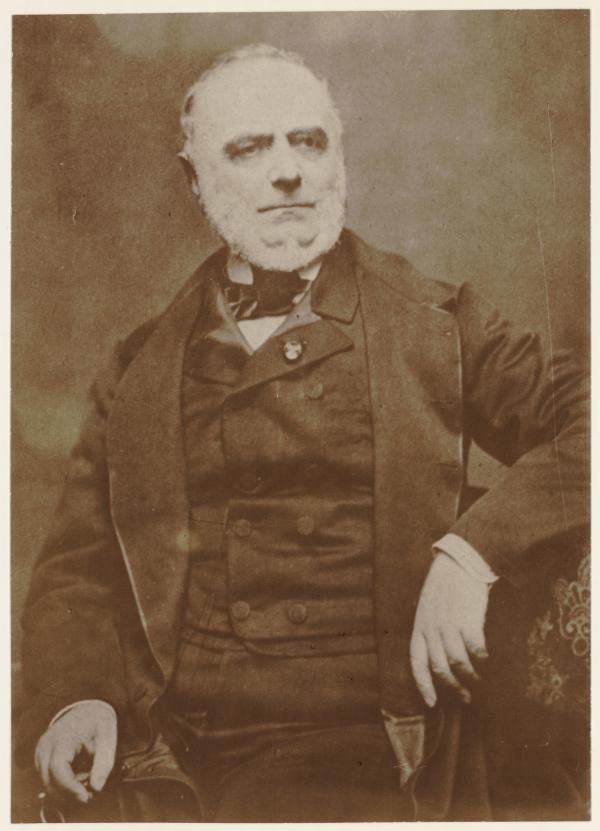 [Portrait du préfet Claude-Marius Vaïsse (1799-1864)]