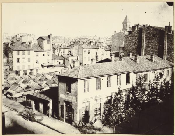 [Le quartier Saint-Pothin vers 1850]