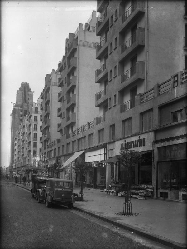[L'Avenue Henri-Barbusse à Villeurbanne]