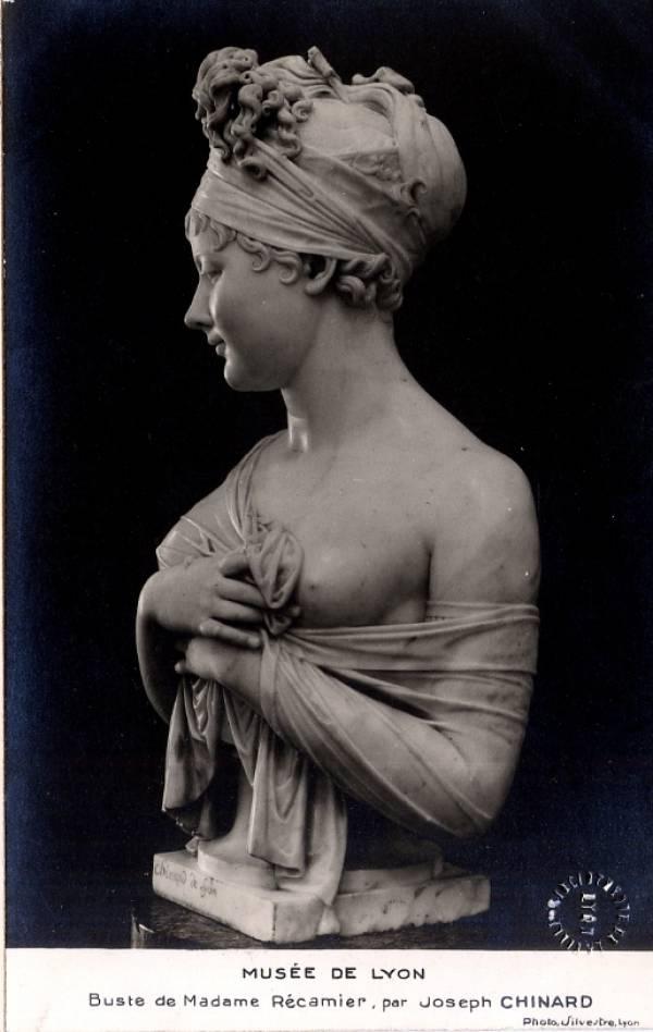 Musée de Lyon : Buste de Madame Récamier, par Joseph Chinard