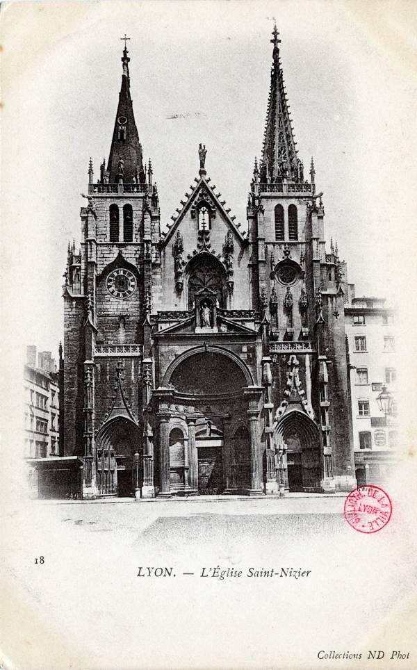 Lyon : L'Église Saint-Nizier