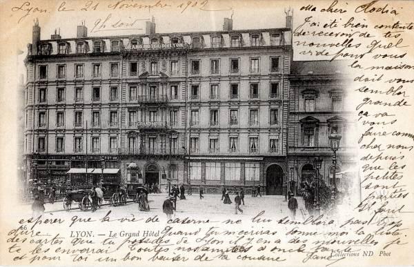 Lyon : Le Grand Hôtel