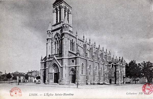 Lyon : L'Église Sainte-Blandine.