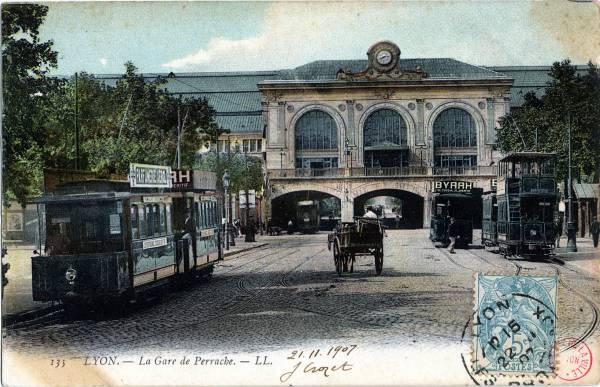 Lyon : La Gare de Perrache