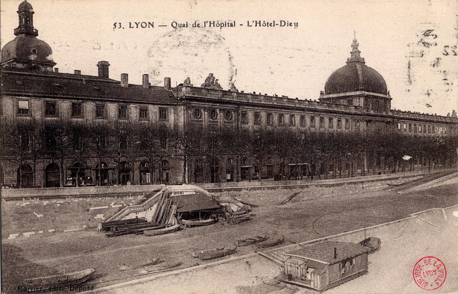 Hopital Hotel Dieu Lyon