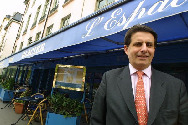 """[Jean-Paul Borgeot, chef de la brasserie """"L'Espace"""", place Bellecour]"""