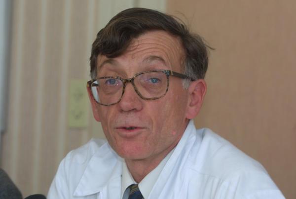 [Hôpital Edouard-Herriot : conférence de presse sur l'état de santé du maire de Lyon]