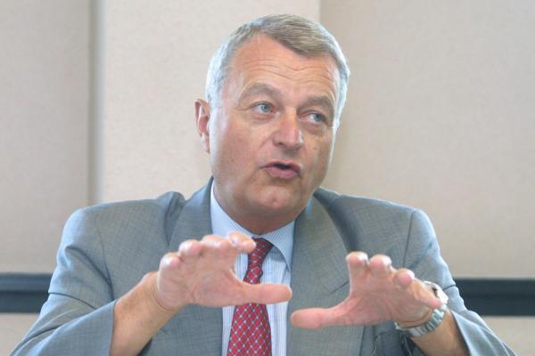 [Hervé Laurent, président du Gil-Medef Lyon-Rhône]