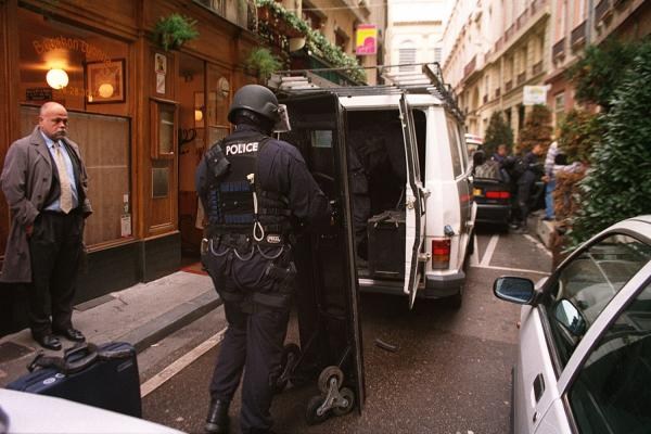 [Intervention du GIPN, rue du Garet, à Lyon]