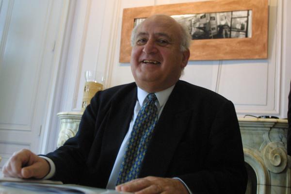 [Régis Pelen, président du Conseil d'Orientation et de Surveillance de la Caisse d'Epargne Rhône-Alpes Lyon]