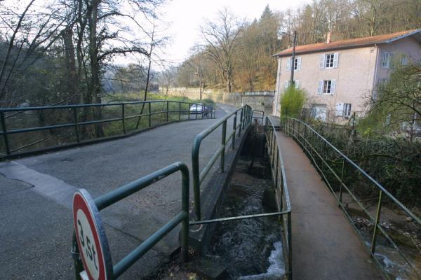 [Passage de l'Yseron, à Craponne (?)]