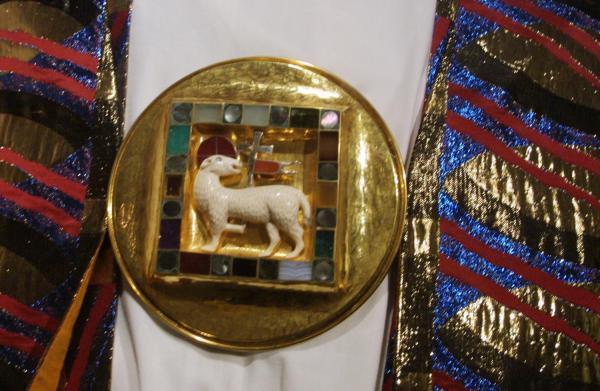 [Musée d'art religieux de Fourvière : exposition de l'oeuvre liturgique de Goudji]
