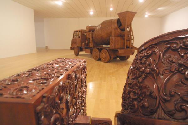 [Musée d'art contemporain de Lyon : exposition Wim Delvoye]
