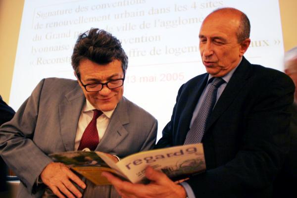 [Communauté urbaine de Lyon : signature de la convention ANRU]