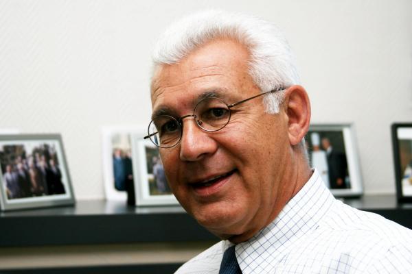 [Christian Gauduel, président de la CRCI Rhône-Alpes]