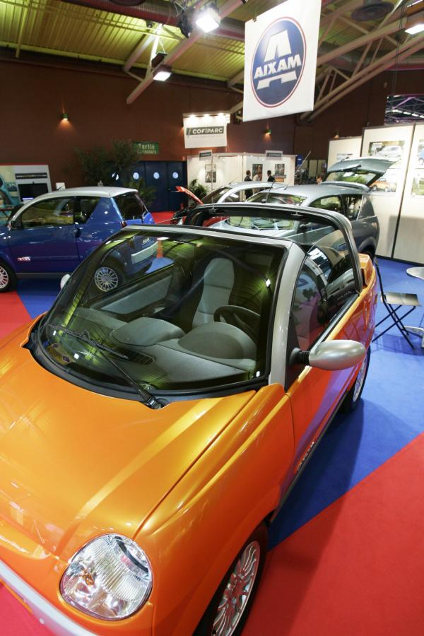 [Salon de l'automobile de Lyon, 2005 : stand Ecomobile]