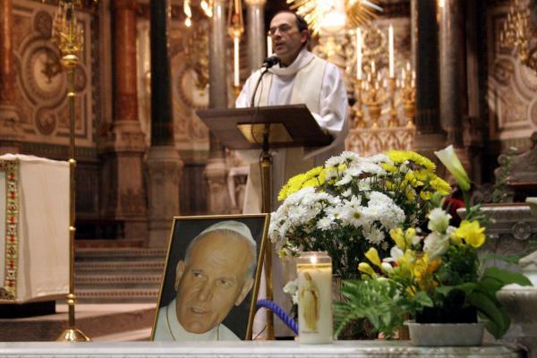 [Décès du souverain pontife Jean-Paul II : recueillement à Fourvière]