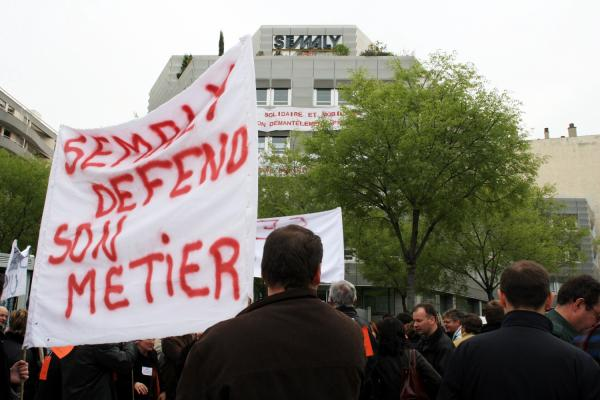 [Grève de la Semaly à Villeurbanne]