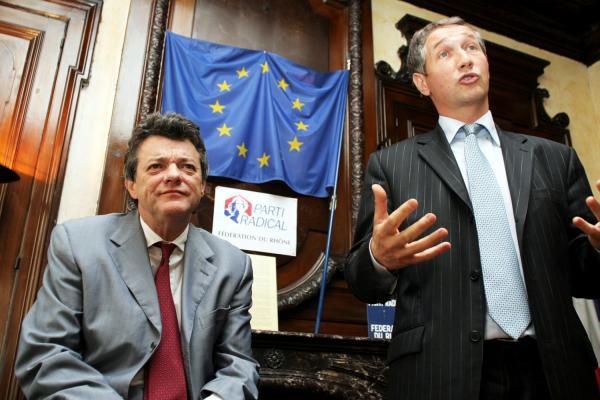 [Jean-Louis Borloo à Lyon : rencontre avec les jeunes du Parti Radical du Rhône]