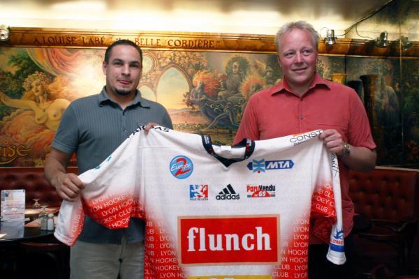 [Un nouvel entraineur pour le Lyon Hockey Club (LHC les Lions)]