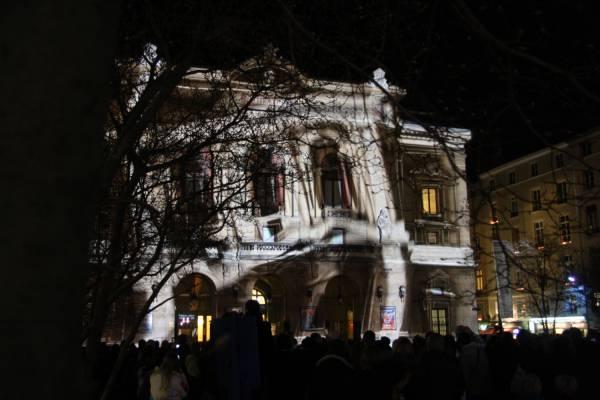 Fête des Lumières 2010 : le théâtre des Célestins