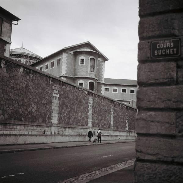 La prison : vue latérale