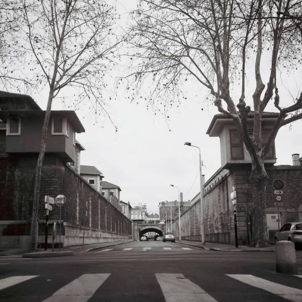 Les miradors des deux prisons
