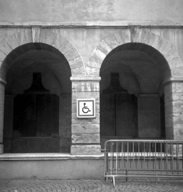 Place de parking pour handicapé