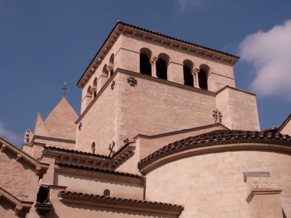 Chevet et clocher lanterne de la Basilique Saint-Martin d'Ainay