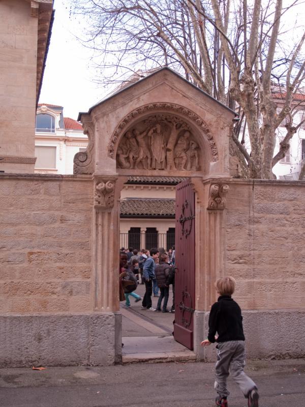 L'école de l'Abbaye d'Ainay