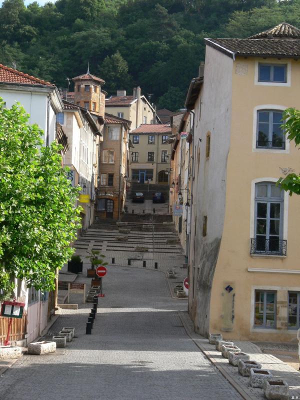 La rue du Port